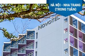Nghỉ dưỡng Novotel Nha Trang – Khởi hành Hà Nội (trong tuần)