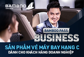 Bamboo Pass Business 50 vé