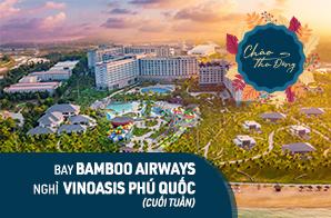 Combo 3N2Đ  Hà Nội – Phú Quốc, nghỉ VinOasis Phú Quốc Resort - Gói cuối tuần