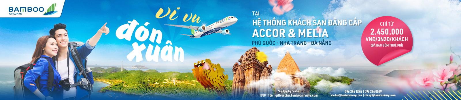 Nghỉ dưỡng Novotel Nha Trang – Khởi hành TP.HCM (trong tuần)