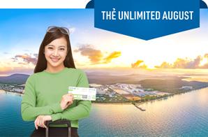 UN21002 - Thẻ bay trả trước Unlimited August – Bay tới 15/08/2021