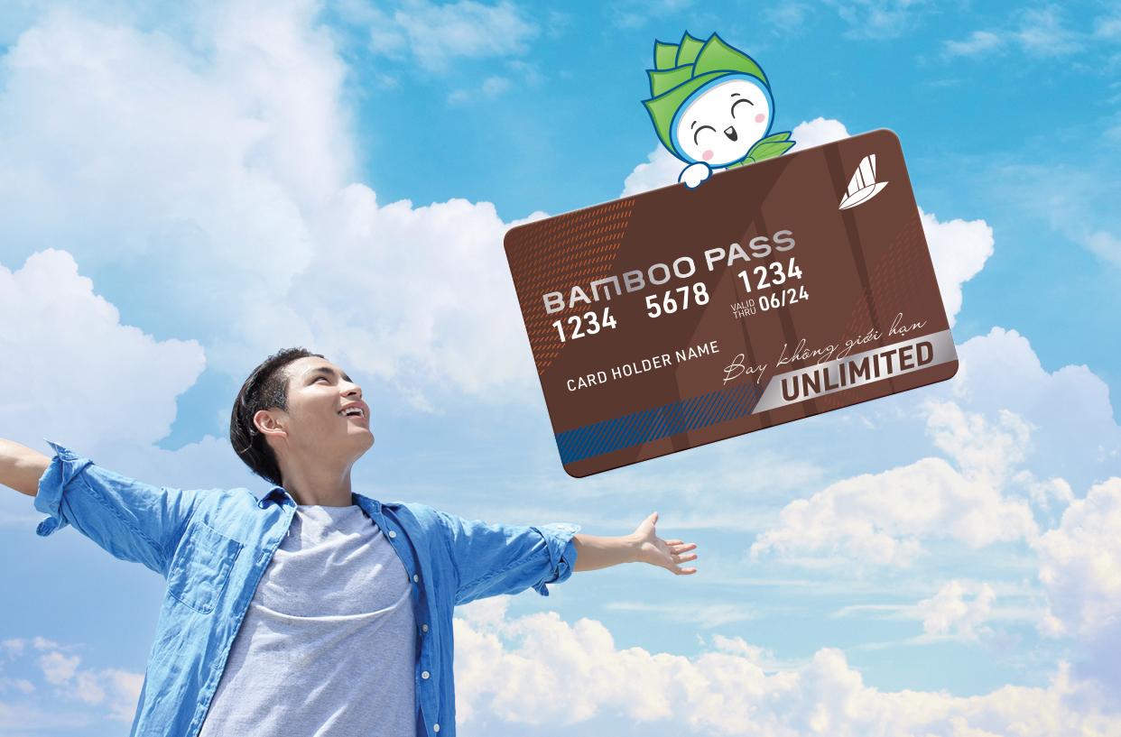 Bamboo Pass – Unlimited 8,100,000 VNĐ - Thẻ bay không giới hạn