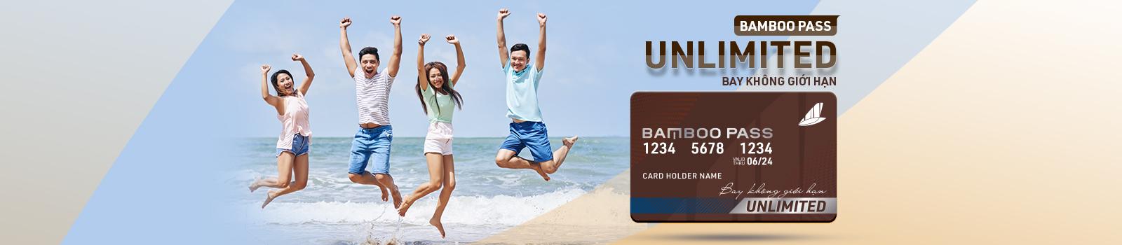 Bamboo Pass - Unlimited - Thẻ bay không giới hạn 23,100,000 VNĐ