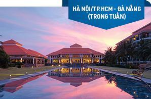 Nghỉ dưỡng Pullman Danang Beach Resort/ Novotel Da Nang Premier Han River – Khởi hành Hà Nội/ TP.HCM (trong tuần)