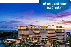 Nghỉ dưỡng Pullman Phu Quoc Beach Resort/ Movenpick Resort Waverly Phu Quoc – Khởi hành Hà Nội (cuối tuần)